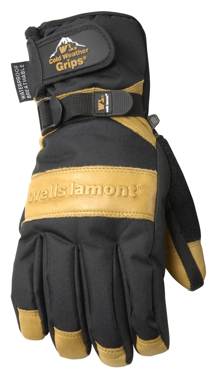 Insulated leather work gloves amazon - Wells Lamont Winter Gloves With Cowhide Leather Palm Insulated Ultimate Water Resistant Large 7660l Fleece Lined Leather Work Gloves Amazon Com