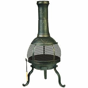 Deckmate SonoraOutdoor Chimenea FireplaceModel 30199