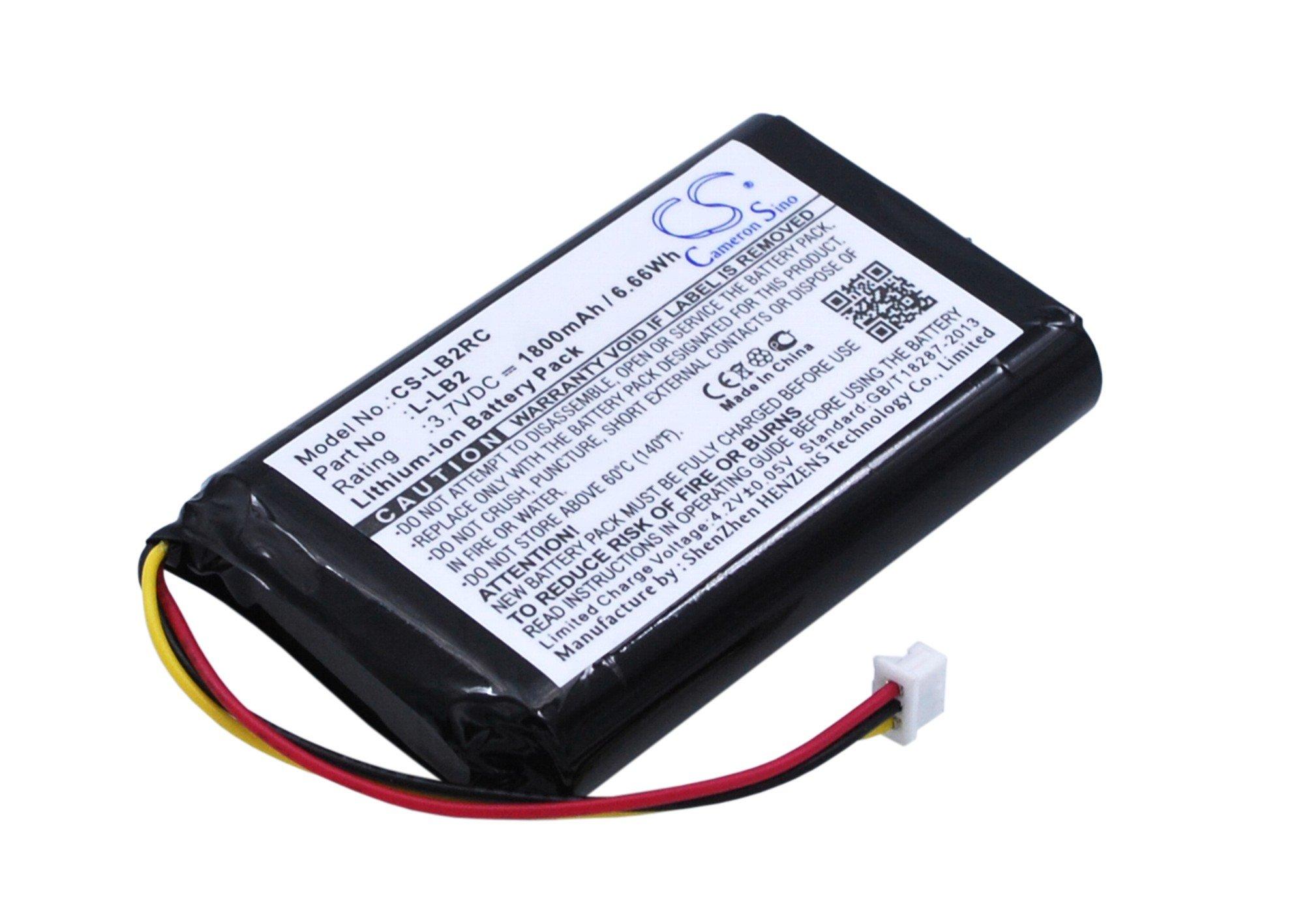 VINTRONS, 1800mAh Battery for Logitech MX1000 Cordless Mouse, by VI VINTRONS