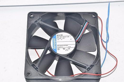 Ventilador, 119 mm, 24 VDC 4414 FM por EBM PAPST: Amazon.es ...