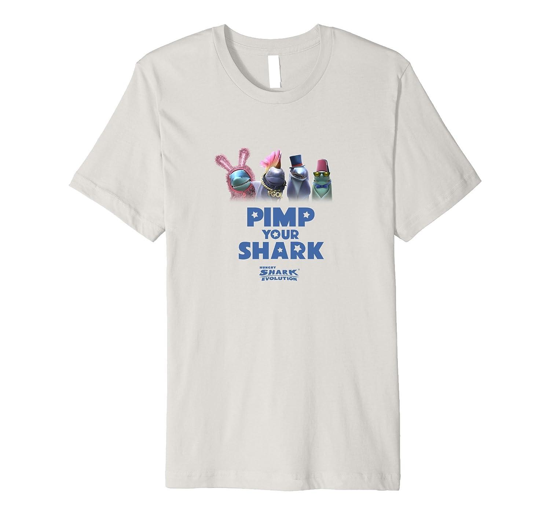 Hungry Shark Evolution: Pimp Your Shark T-Shirt Light-TH