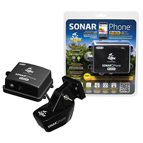 Vexilar SP200 T-Box Smartphone Fish Finder, Black