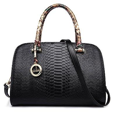 ff616923ff ZOOLER GLOBAL Womens Leather Handbags Top Handle Bags Satchel Purses for  Women