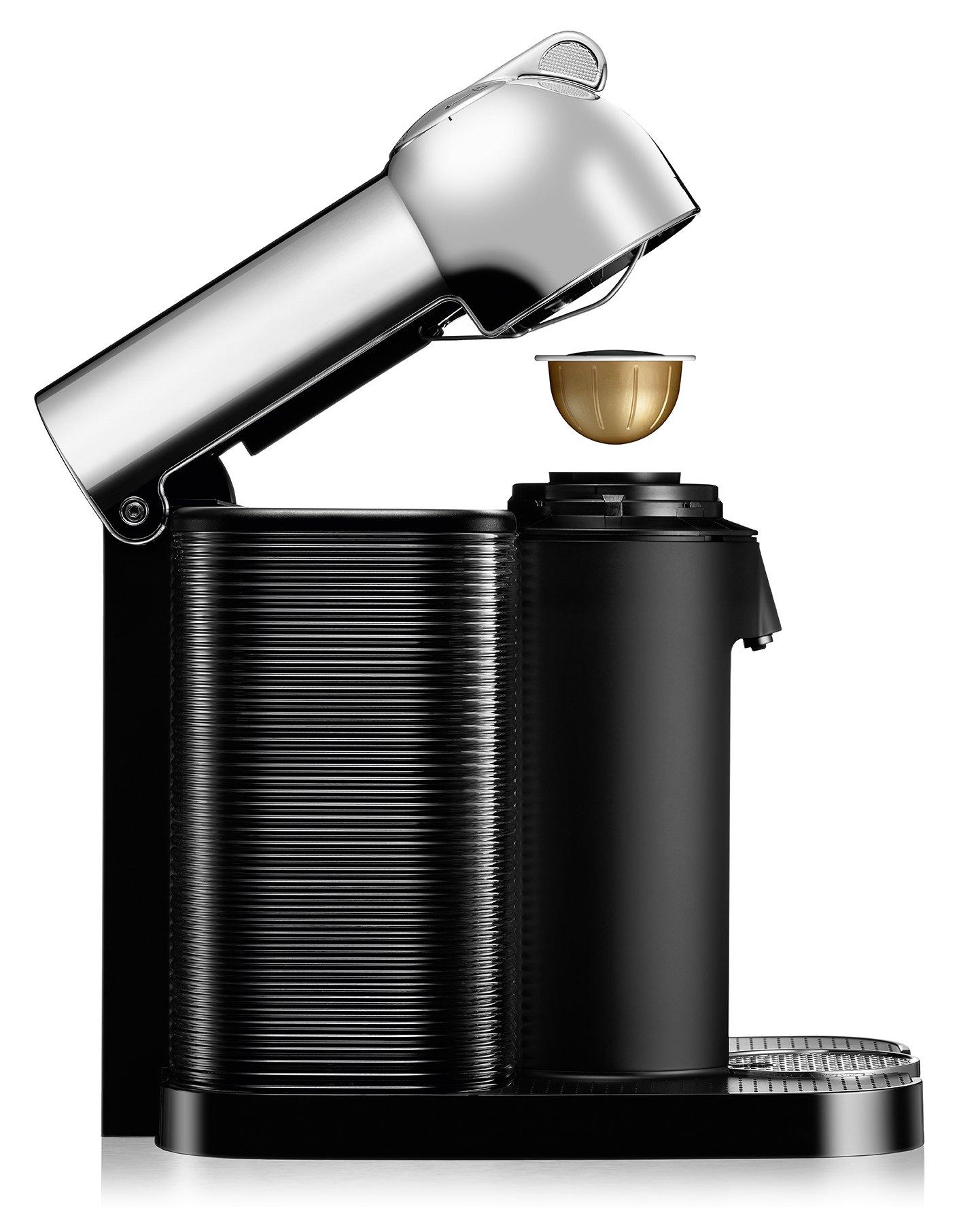 Nespresso Vertuo Coffee and Espresso Machine by Breville with Aeroccino, Chrome by Breville (Image #6)