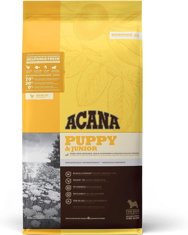 ACANA PUPPY & JUNIOR comida para perro 17 KG 1 Saco