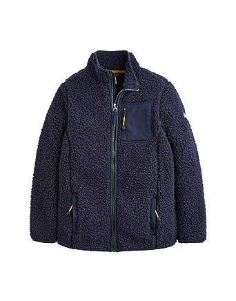 61ad109c1 Amazon.com: Joules Kids Mens Sherpa Zip Through Fleece (Toddler/Little Kids/Big  Kids): Clothing