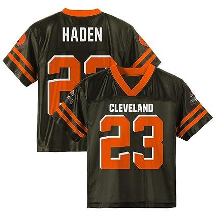 best service 584f4 c4718 Amazon.com : Outerstuff Joe Haden NFL Cleveland Browns ...