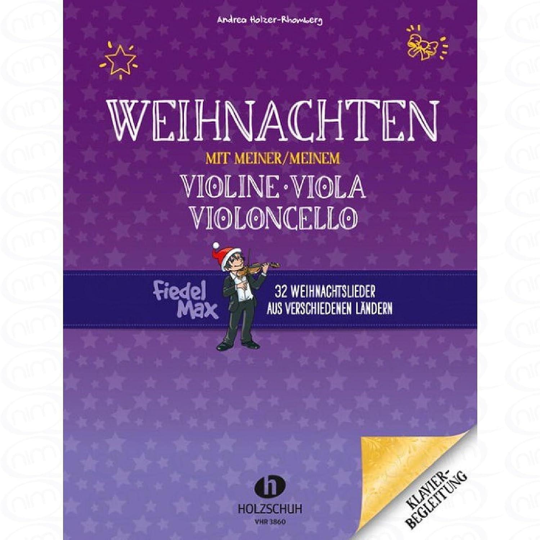 Weihnachten mit meiner Violine - arrangiert für Klavier [Noten ...