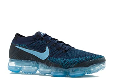 Nike Men s Air VaporMax Flyknit Running Shoe (Sz. 12) College Navy Blue 078aa05cd