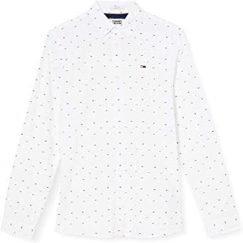 Tommy Hilfiger TJM Colored Dobby Poplin Shirt Camisa para ...