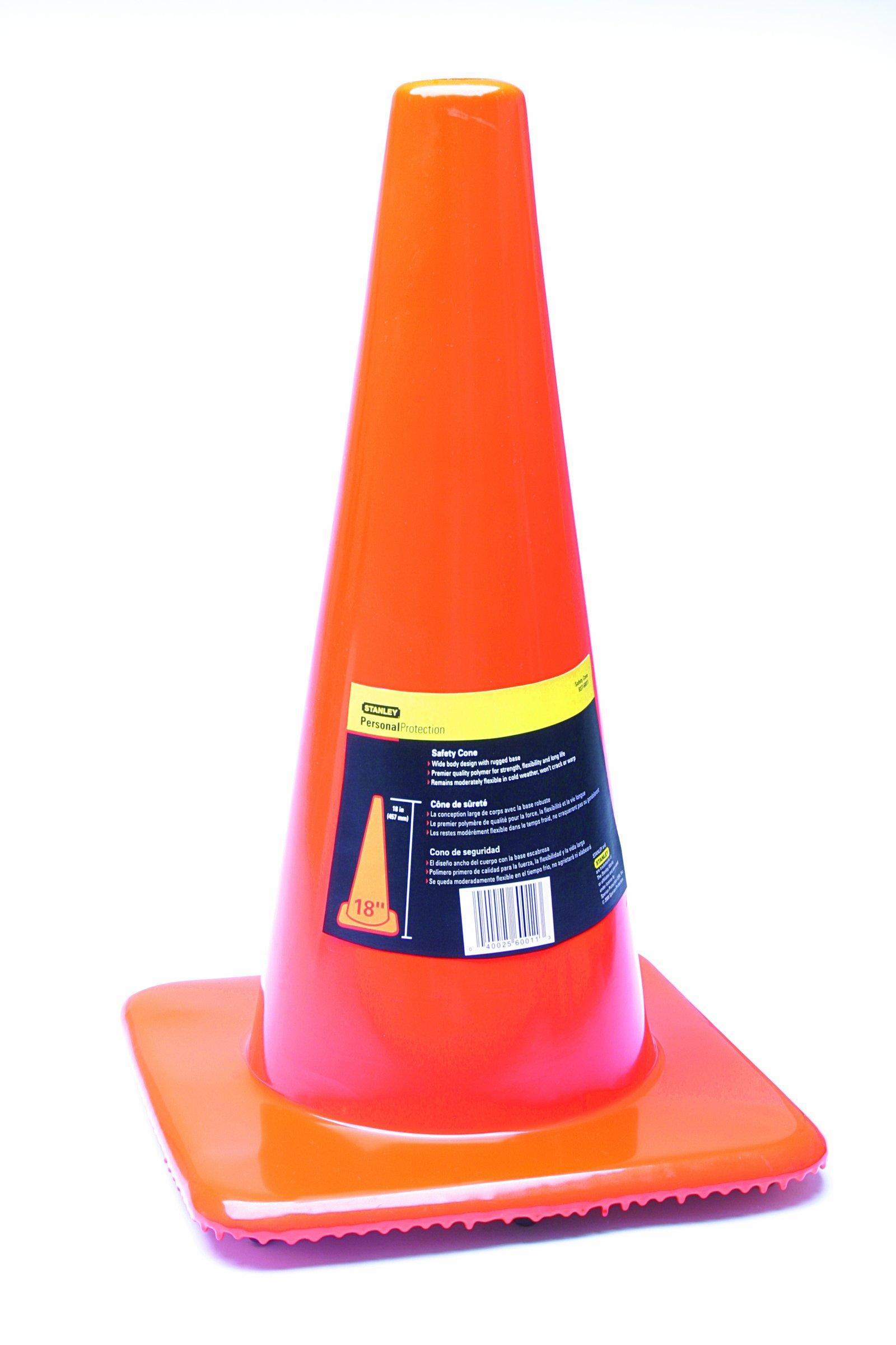 Stanley 18'' Orange Traffic Cone (RST-60011)