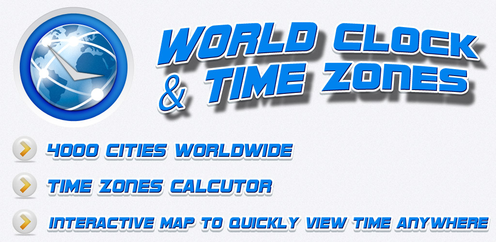 Amazon best world clock time zones free appstore for android gumiabroncs Choice Image