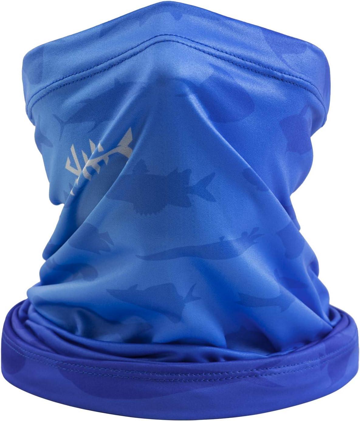 UV Protection Multi-purpose Magic scarf Elastic Headband Gaiter Balaclava for riding motorcycling hiking fishing Bassdash Neck Gaiter Headband Bandana Scarf Face Mask UPF 50