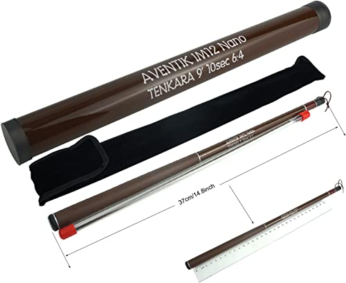 Aventik Z Tenkara Rods Pro IM12 Nano 6 4 Action 5 Most Used Sizes All Water Conditions Quality Carbon Tube Packing, Extra Spare Sections Included, Tenkara Fly Rods Combo