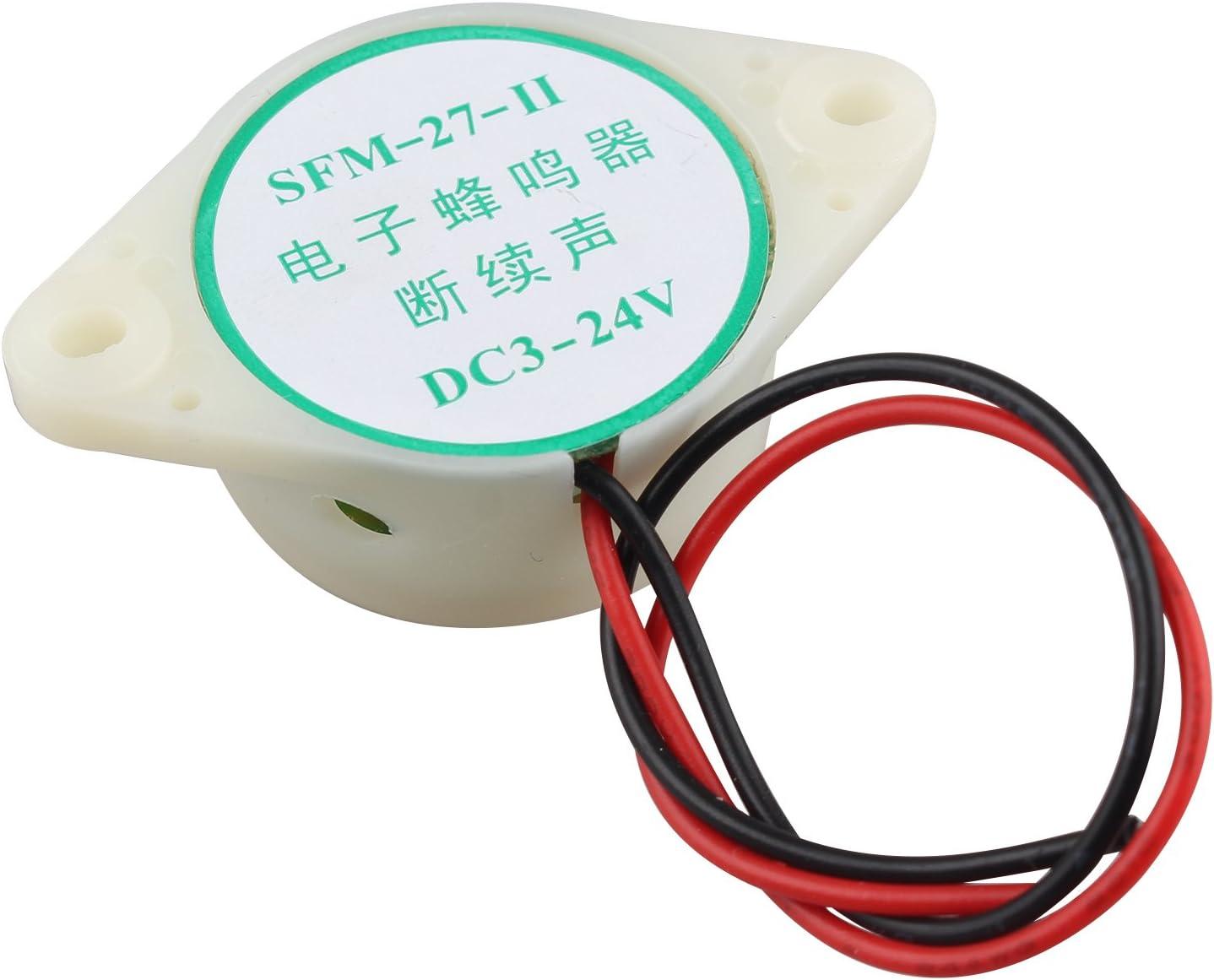 24/V 12/MA industrielle continue son /électronique Buzzer FUSD 2/pcs Sfm-27/DC 3
