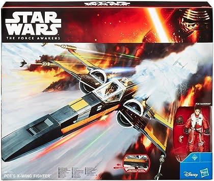 Star Wars - X-Wing, figura (Hasbro B3953) , color/modelo surtido: Amazon.es: Juguetes y juegos