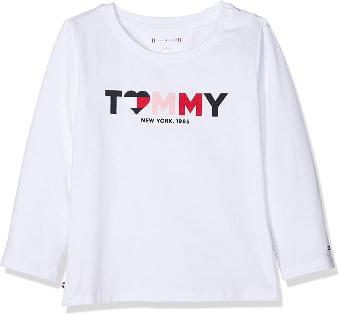 Tommy Hilfiger Baby-Jungen Tommy Loopback Sweatshirt