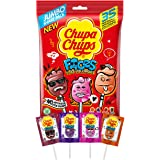 Chupa Chups Faces Bags, 5 Bags x 35 Lollipops