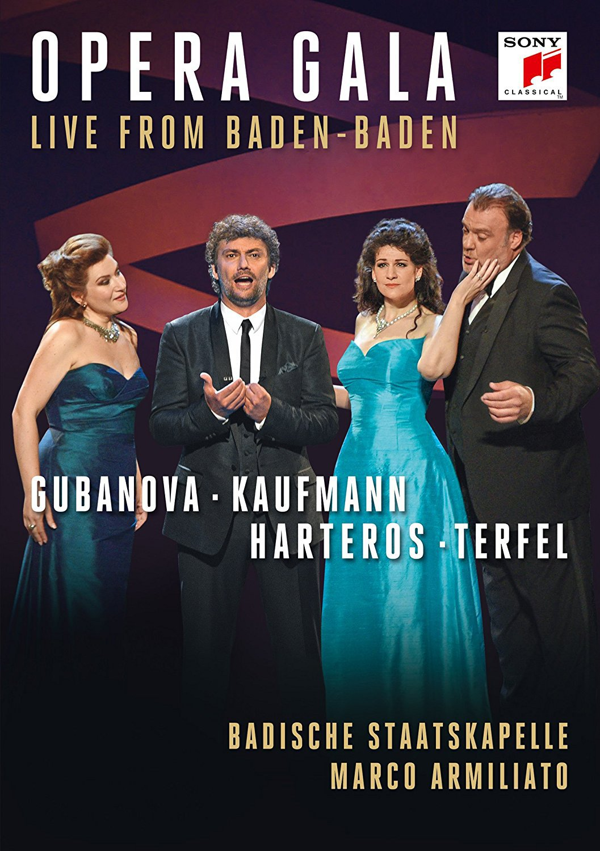 DVD : KAUFMANN,JONAS - Opera Gala - Live from Baden-Baden (DVD)