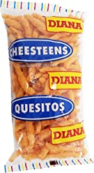 Prodiana Cheesteen Snack 4.40 oz - Quesitos (Pack of 1)