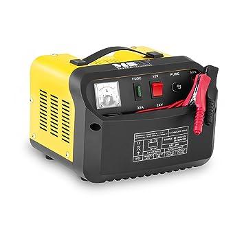 MSW Cargador de batería Coche S-CHARGER-30A.4 (12/24 V ...