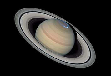 The aurora australis at Saturn'-s southern pole. | cosmos ...