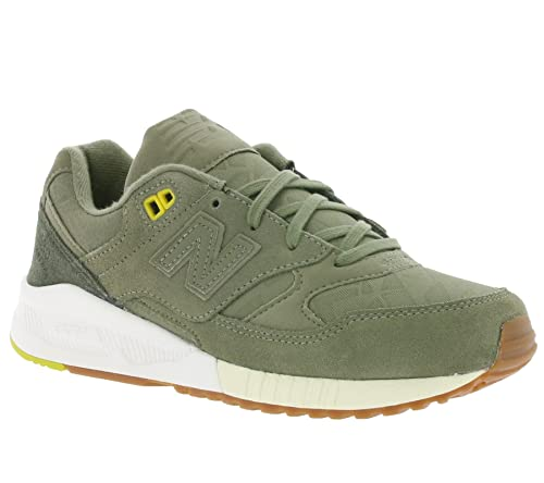 best deals on 59333 68a16 New Balance Women's Trainers Green Green: Amazon.co.uk ...