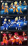 "SDCC Exclusive Shodo Dragonball Z Ultimate Spark Ver 3 Figure Set Aprox 2.5"""