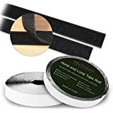 Self Adhesive Hook and Loop Tape Roll 40 Feet x 0.8 Inch Fabric Fastener Mounting Tape by Holotap Adhesive Fastening Strips (
