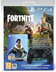 Dualshock 4 V2 + Fortnite voucher