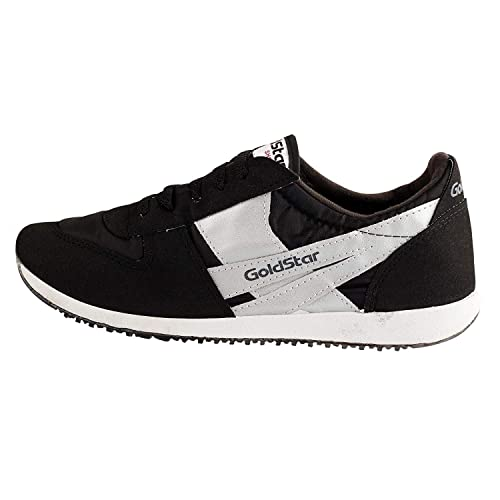 28ee8cccc49 GoldStar Made in Nepal Mens Black Laceup Sports Shoes  Buy Online at Low  Prices in India - Amazon.in