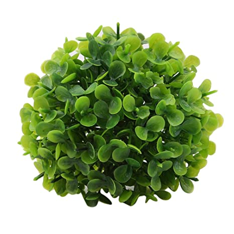 Plastic Topiary 30cm Tree Leaf Effect Ball Hanging Home Garden Decoration Hot