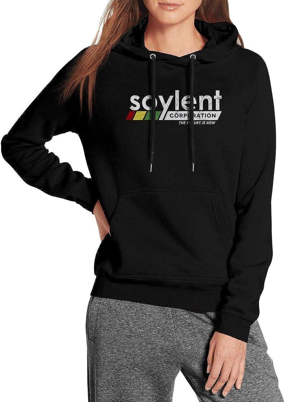 Fo Women Warm Lightweight Pullover Sweatshirt Sweater Pill Resistant COOLGOOD Soylent-Corporation-Logo-Inspired-Logo