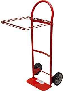 Milwaukee Hand Trucks 40620 Flow Back Handle Truck With Poly Bag Holder And  8 Inch