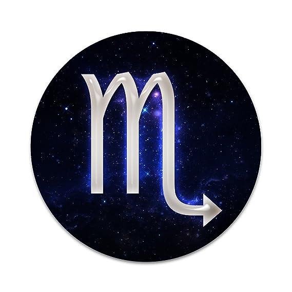 Amazon Scorpio Galaxy Zodiac Symbol 2 Sticker Set For Pop Grip