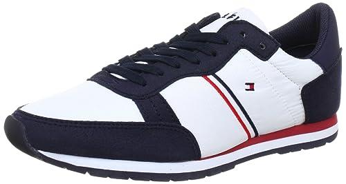Tommy Hilfiger LOIS - Zapatillas de lona mujer, color azul, talla 39: Amazon.es: Zapatos y complementos
