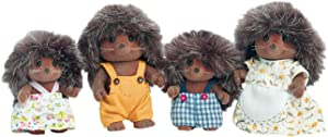 Calico Critters, Pickleweeds Hedgehog Family, Dolls, Dollhouse Figures, Collectible Toys