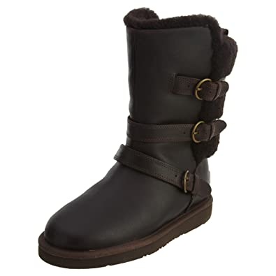 UGG Women's Becket Chocolate Leather 5 B US B ...