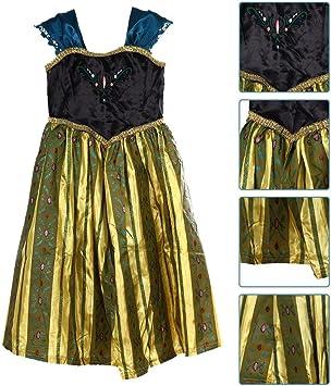 Disfraz de Princesa Ana- Frozen (GA0014-L)-Vestido para niña ...