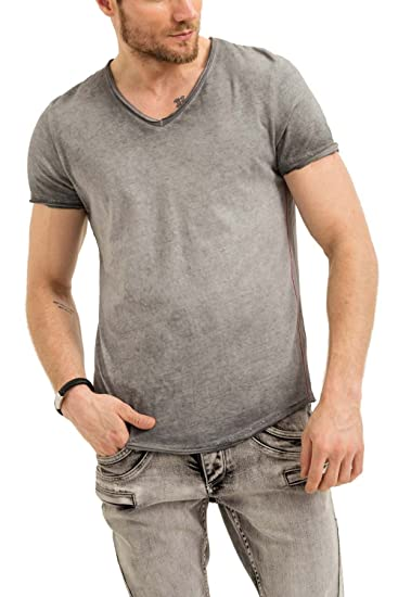 30996c3993fe9 trueprodigy Casual Homme Tee Shirt uni Basique, Vetements Swag Marque col V  (Manche Courte