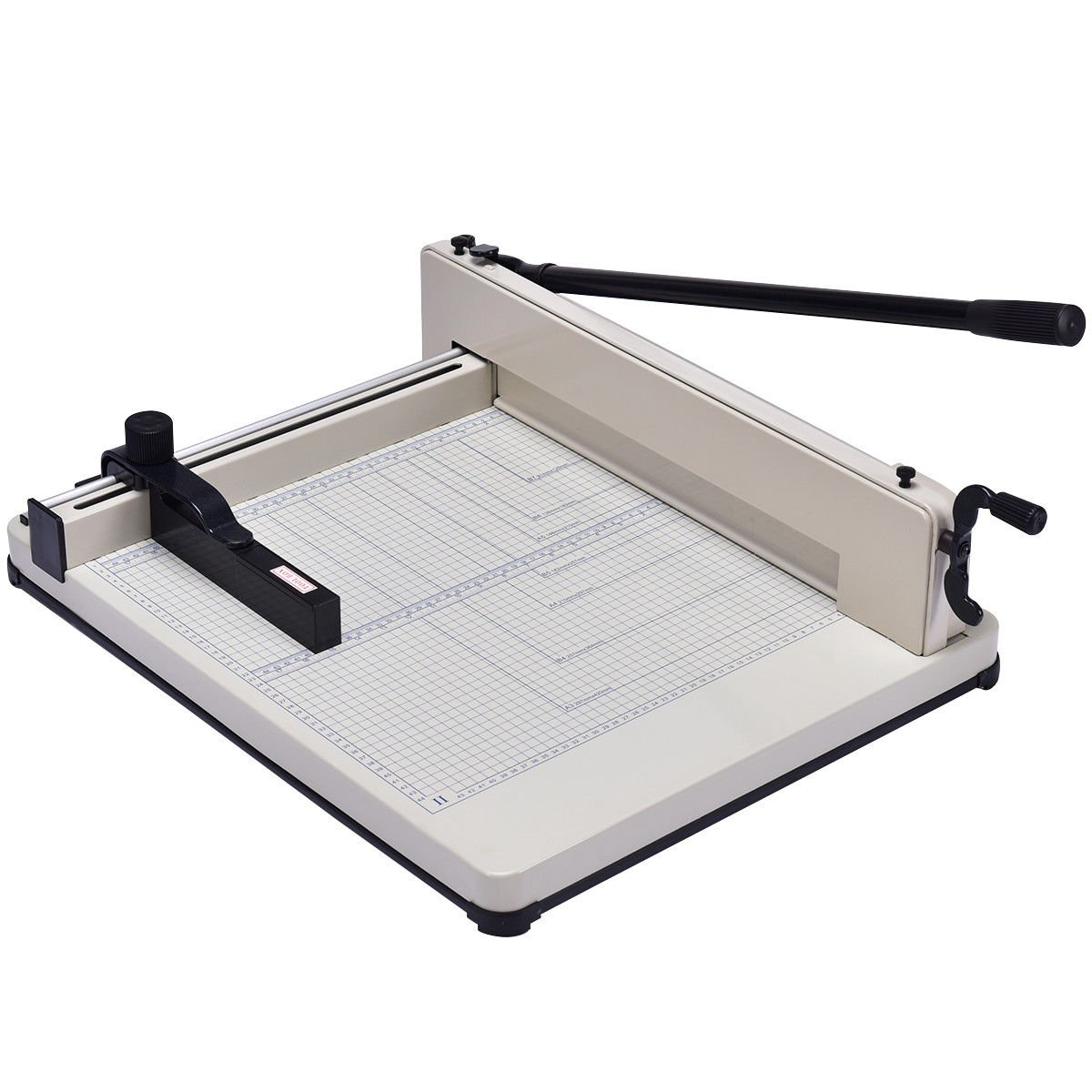 Giantex 17'' Guillotine Paper Cutter, Heavy Duty A3 Trimmer Machine with Commercial Metal Base and 400 Sheet Large Capacity for Home and Office, Paper Trimmer by Giantex