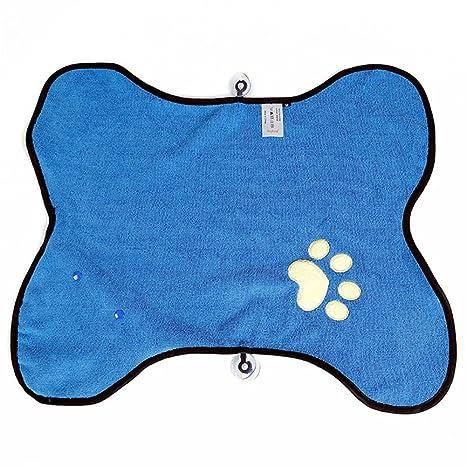 Doglemi Toalla de limpieza para puerta de perro, gato, toalla absorbente para limpiar mascotas
