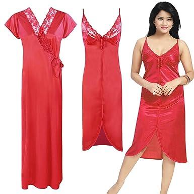 82ef20e80f135 Women Ladies Sexy Lingerie Nightwear sleepwear Babydoll Nighty Robe  8-14-Red-One Size: Regular (8-14): Amazon.co.uk: Clothing