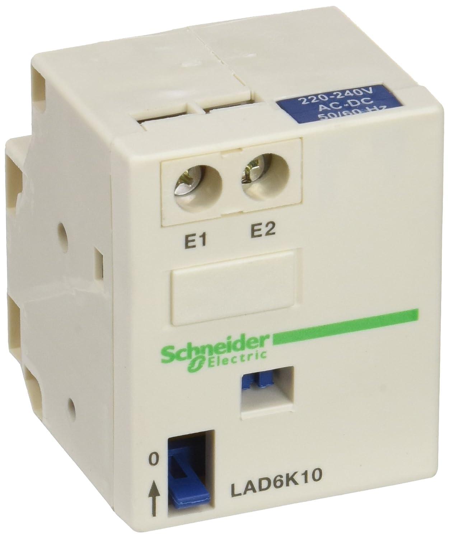 Schneider Electric LAD6K10M Mechanical Latch Block 220/240V, Contactor Mech. Latch Contact Block Iec