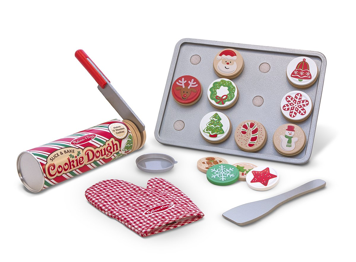 Melissa and Doug Slice and Bake Christmas Cookie Play Set best toys girls age 4