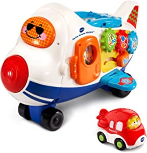 VTech Go! Go! Smart Wheels Racing Runway Airplane, Great Gift For Kids, Toddlers, Toy for Boys and Girls, Ages 1, 2, 3, 4, 5