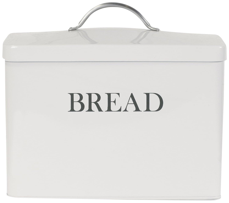 Garden Trading 1-Piece Garden Trading Bread Bin, Chalk White by Garden Trading BBCH02