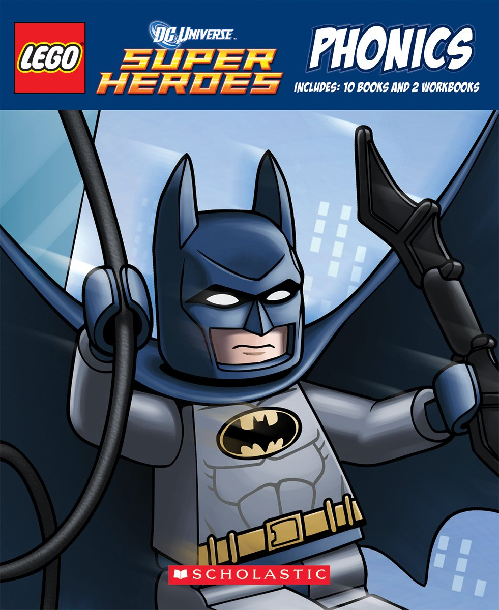 LEGO DC Super Heroes: Phonics Boxed Set by Lee, Quinlan B./ White, Dave (ILT)