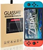 MAEXUS 2 Pcs Switch Screen Protector Tempered Glass Premium HD Clear