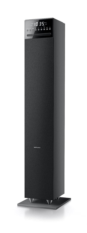 Muse M-1350 BTC - Sistema de altavoz torre 2.1 (120 W, Bluetooth, NFC, USB, Piso), color negro